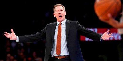 Knicks'te Hornacek dönemi sona erdi