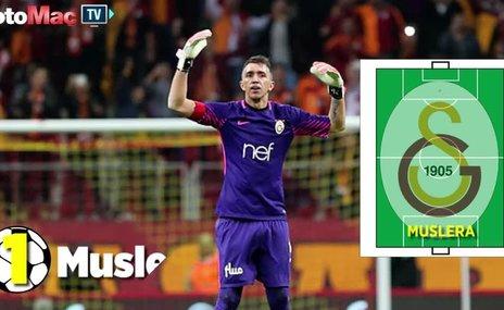 Galatasaray'ın Akhisarspor karşısındaki ilk 11'i