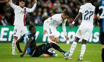 Club Brugge soyunma odası karıştı! Diagne...