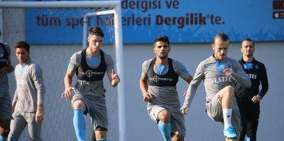 Trabzonspor MKE Ankaragücü maçının hazırlıklarını sürdürdü