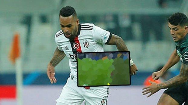 Beşiktaş Sporting Lizbon maçında Alex Teixeira'nın golü VAR'a takıldı! İşte o pozisyon
