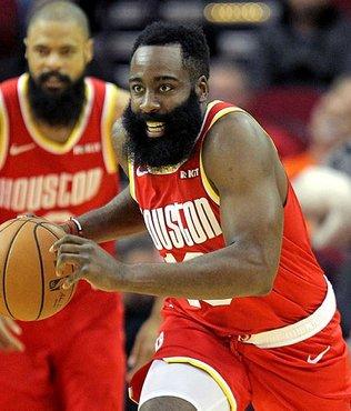 Houston Rockets Harden'ın 44 sayısıyla Indiana Pacers'ı yendi
