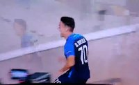 Avrupa Ligi maçında korku dolu anlar! Attığı gole sevinemedi...