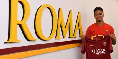 Justin Kluivert Roma'da