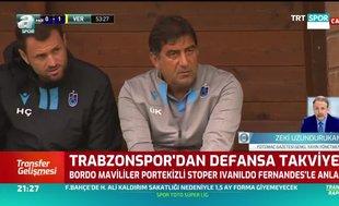 Trabzonspor'dan defansa takviye