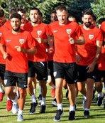 Kayserispor'da 7 futbolcu idmanda yoktu