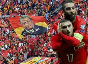 Galatasaray'dan Burak ve Arda'ya gönderme