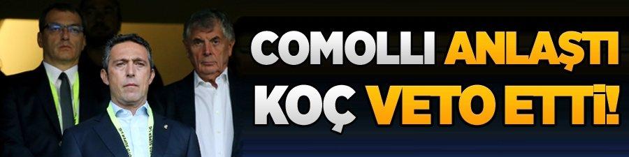 Comolli anlaştı Ali Koç veto etti!