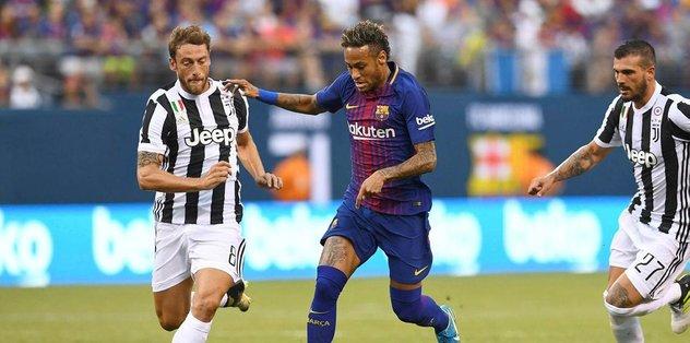 Neymar Juventus defansını dağıttı!
