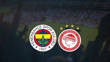 Fenerbahçe - Olympiakos maçı saat kaçta ve hangi kanalda?