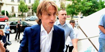 Modric, gözaltına alındı