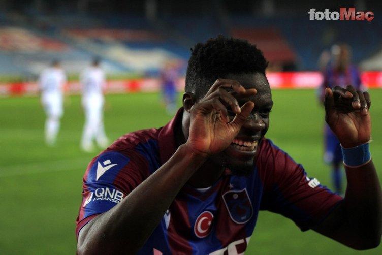 Son dakika spor haberi: Menajerinden açıklama! Caleb Ekuban Trabzonspor'dan ayrılacak mı?
