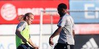 Beşiktaş'ta yeni sezon mesaisi sürüyor