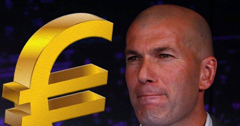 Real Madrid'den Zidane'a tarihi bütçe! Çılgın transfer listesi...