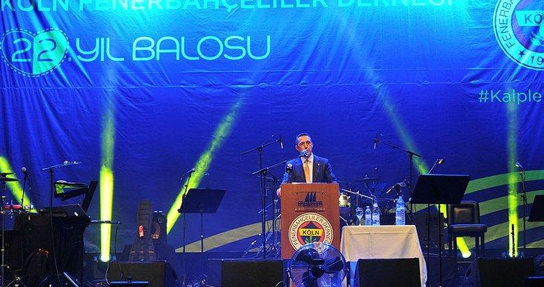 Ali Koç'tan itiraf! Fenerbahçe'ye şok
