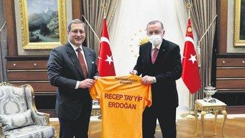 Başkan Erdoğan Elmas'ı kabul etti