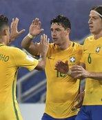 Brezilya'nın kadrosuna seçildi