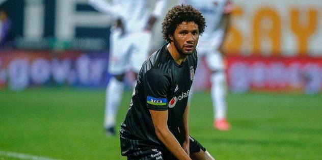 Beşiktaş'ta Elneny kriz yarattı! Meğer idmana çıkmamış