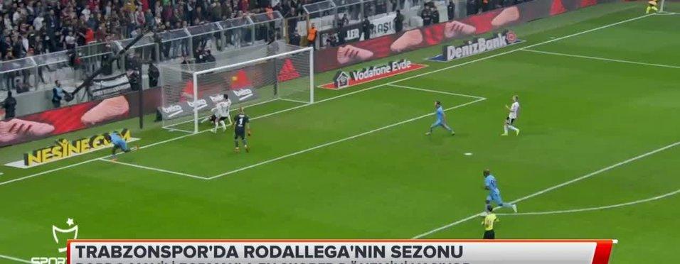 Trabzonspor'da Rodallega'nın sezonu