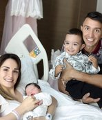 Muslera ikinci kez baba oldu