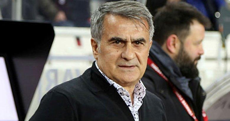 Beşiktaş'ta Şenol Güneş'ten veda sözleri