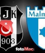 Beşiktaş - Malmö   CANLI