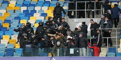 Ukrayna'da 10 Beşiktaş taraftarı yaralandı