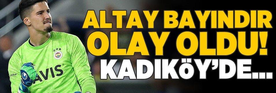 Fenerbahçeli Altay Bayındır olay oldu! Kadıköy'de...