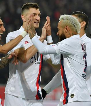 MAÇ SONUCU Lille 2-0 Paris Saint-Germain