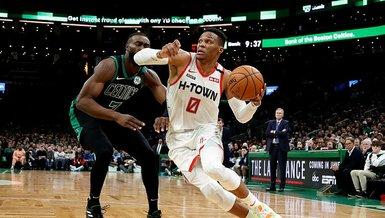 NBA'de Rockets Celtics'i uzatmada yendi