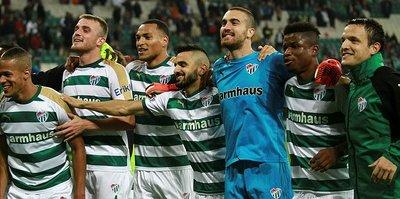 Bursaspor'da hedef şanssızlığı kırmak!