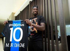 Mbaye Diagne'den çok konuşulacak Falcao yorumu: Eşime dedim ki...