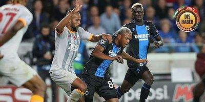 Club Brugge taraftarından Galatasaray taraftarına ırkçı tezahürat