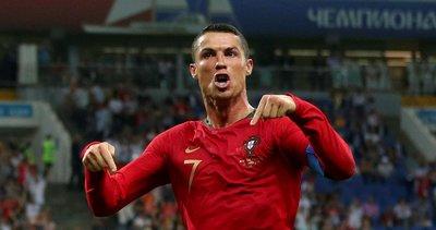 Dünya Kupası'nın golünü Ronaldo attı