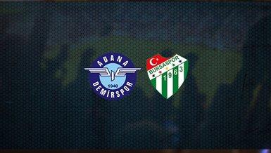 Adana Demirspor - Bursaspor maçı ne zaman, saat kaçta ve hangi kanalda canlı yayınlanacak? | TFF 1. Lig
