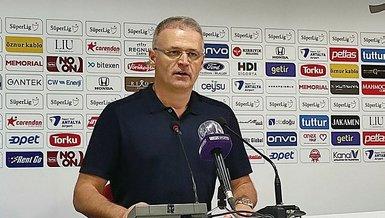 İrfan Buz Antalyaspor Yeni Malatyaspor maçının ardından açıklamalarda bulundu: Maçın hakkı bu değildi