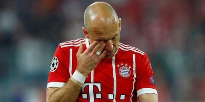 Bayern Münih'te Arjen Robben şoku!