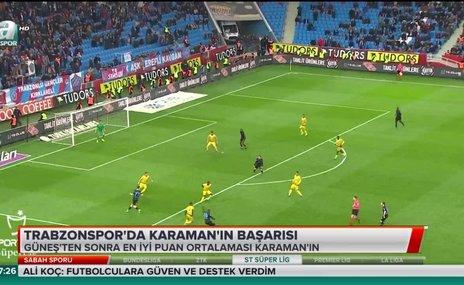Trabzonspor'da Ünal Karaman'ı başarısı