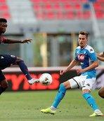Bologna ile Napoli puanları paylaştı