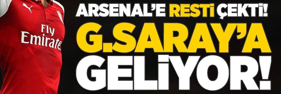 Arsenal'e resti çekti! G.Saray'a geliyor!