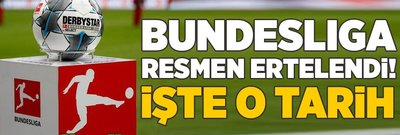 Bundesliga resmen ertelendi! İşte o tarih