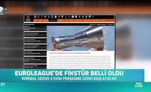 THY EuroLeague'de fikstür açıklandı