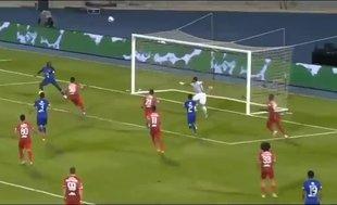 Gomis'in müthiş golü spikeri çıldırttı!