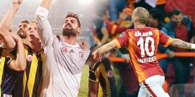 Son 5 yıla damga vuran 8 Fenerbahçe - Galatasaray maçı!