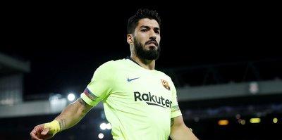Luis Suarez 4 ila 6 hafta yok