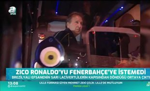 """Zico Ronaldo'yu Fenerbahçe'ye istemedi"""