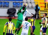 Kasımpaşa - Menemen Belediyespor maçından kareler