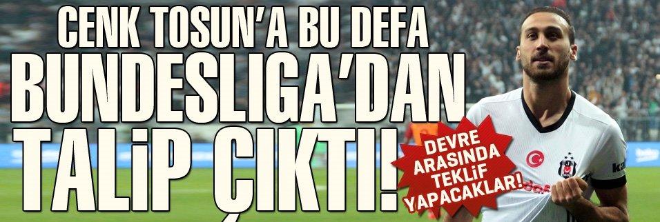 Cenk Tosun'a Bundesliga'dan talip!