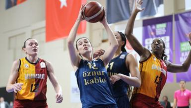 Euroleague Kadınlar'da Galatasaray çeyrek finalde