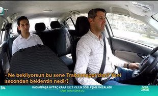 A Spor Taksi trafikte